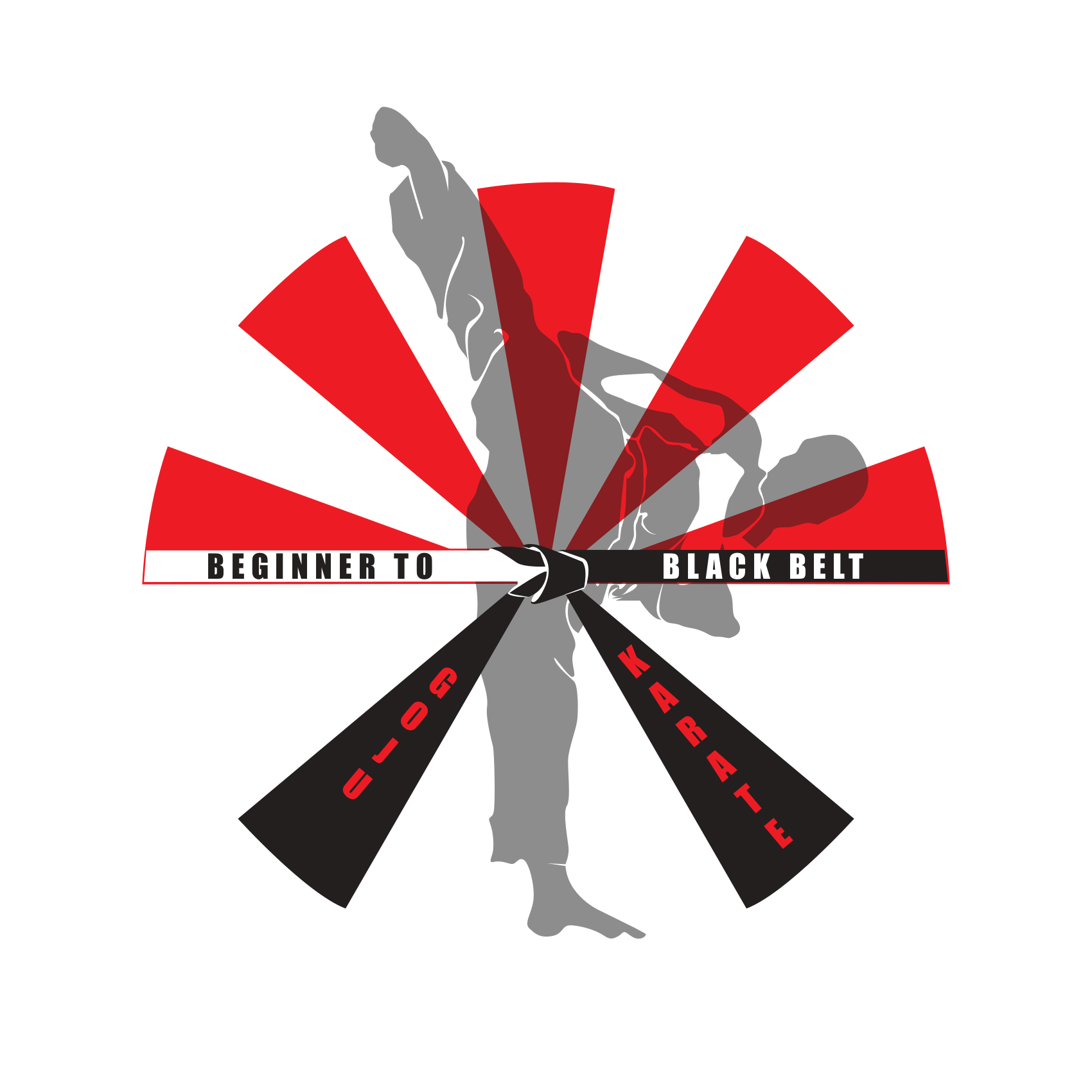 Beginner to Black Belt - Goju Karate Logo